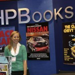 My book at the HPBooks booth at SEMA